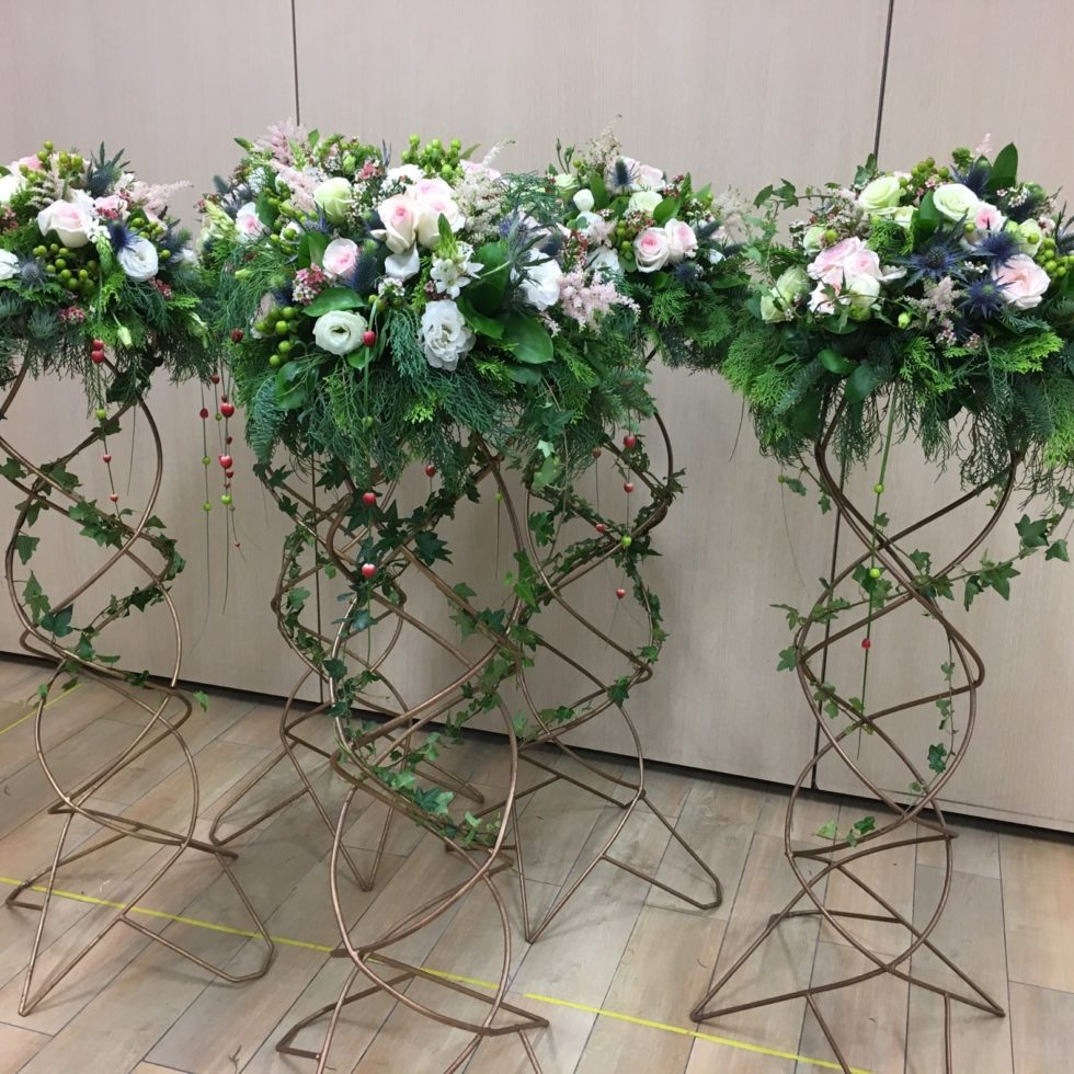 floral decor at events