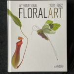 Floral Art Book Cover designed by Teresa Skues - Photography by N.D. Photography